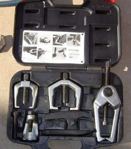 Powerbuilt Puller Set