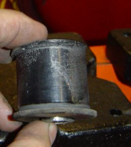 Trailing arm bushing from a C4 Corvette