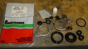 Caliper Rebuild Kit #60196 for C4 Rear Brake Calipers