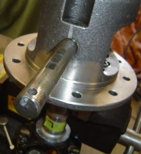 Center shaft of the Dana 36 limited slip differential