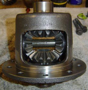 Rebuilt Dana 36 differential