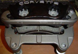 Caliper rebuild complete on C4 Corvette front brakes