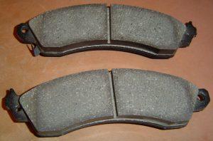 C4 Corvette front brake pads