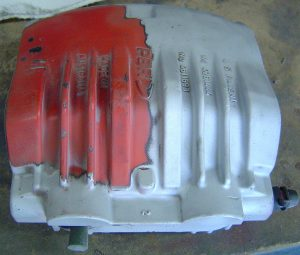 1996 Corvette Grand Sport brake caliper blasted