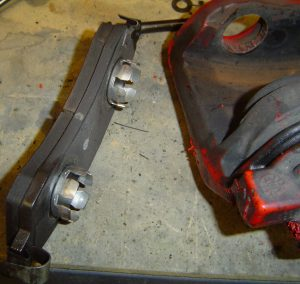 1996 Corvette Grand Sport brake pad & caliper