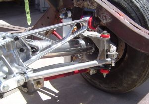 Right rear suspension on C4 Corvette RestoMod