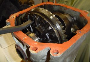 Limited slip differential removed from Dana 36 carrier