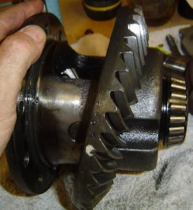 Ring gear removal from Dana 36 limited slip differential