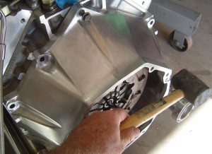 Bellhousing for LS1 and Tremec T-56 transmission