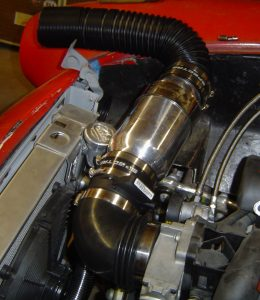 Spectre Performance cold air intake, 1957 Corvette RestoMod