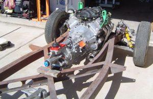 LS! & T-56 installed in RestoMod frame