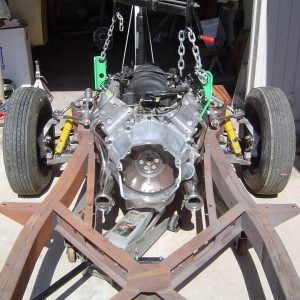 LS1 installed in 1957 Corvette RestoMod frame
