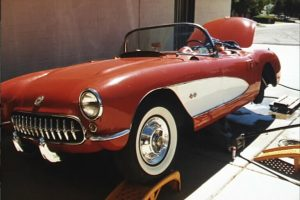 1957 Corvette RestoMod beginning