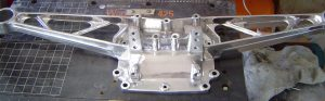 Dana 36 carrier cover polished
