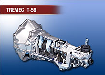 Tremec T-56 six-speed double overdrive transmission