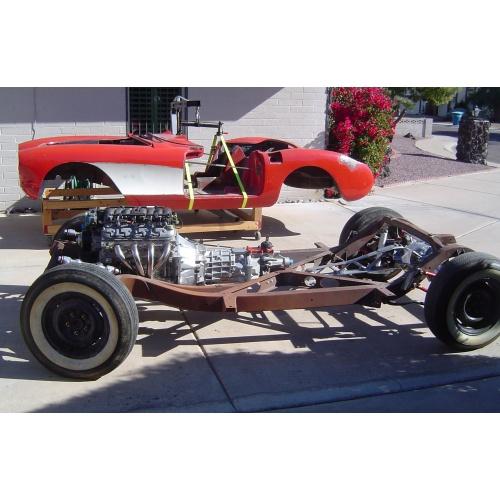 Test-Fit C4 Corvette RestoMod Chassis & Drivetrain